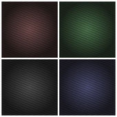 Set corduroy color background, fabric texture — Stock Vector