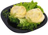 Manti (dumpling) — Stock Photo