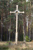 Wooden cross — Stockfoto