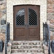 Stock Photo: Front door