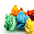 Crumpled paper. — Stock Photo