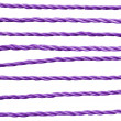 Purple rope. — Stock Photo #7984647