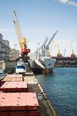 Port of Odessa. — Stock Photo