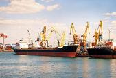 Infrastruktur der seehafen. — Stockfoto