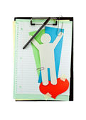Clipboard. — Stockfoto