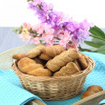 tereyağı kurabiye bisküvi — Stok fotoğraf