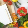 Recipe book — Stock Photo #8210738