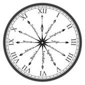 Time zone — Stock Photo