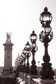 Pont Alexandre III Bridge in Paris — Stock Photo