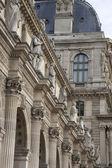 Louvre Art Museum in Paris — Stock Photo