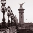 Stock Photo: Pont Alexandre III Bridge, Paris