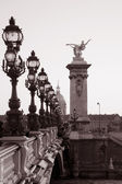 Pont Alexandre III Bridge, Paris — Stock Photo