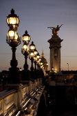 Pont alexandre iii bridge, Parijs — Stockfoto