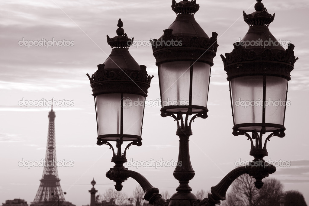 foto paris blanco negro: