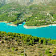 Guadalest dam in Alicante — Stock Photo
