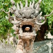 Stone Dragon Statue at Buddha Temple - Dalat, Vietnam - Foto Stock