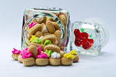 Cookies in a Jar — Stock Photo