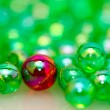 Stock Photo: One Different Beads Background II
