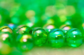 Green Beads Background IV — Stock Photo