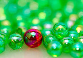 One Different Beads Background II — Stock Photo