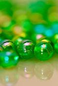 Sfondo verde perline — Foto Stock