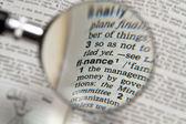 Powiększające finansów — Zdjęcie stockowe