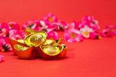 Chinese New Year - Gold Ingots IV — Stock Photo