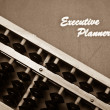 Stock Photo: Financial Planning Concept in Sepia