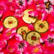 Chinese New Year - Emperor's Coins Ornaments — Stock Photo