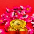 Stock Photo: Golden Ingots for Chinese New Year III