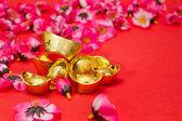 Año nuevo chino - oro lingotes iv — Foto de Stock
