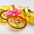 Stock Photo: Chinese New Year - Wealth Ornaments Closeup