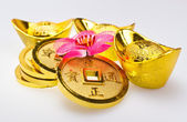 Chinese New Year - Wealth Ornaments Closeup — Stock Photo