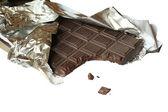 Chocolate bite — Stock Photo