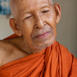 Monk in Cambodia — Stock Photo