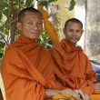 Monks in Cambodia — Foto de Stock