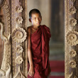 Stock Photo: Monk in Myanmar