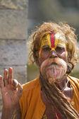 садху катманду непал — Стоковое фото