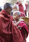 Monks Myanmar — Stock Photo