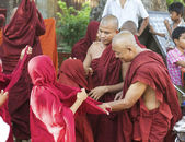 Monks in Myanmar — Foto Stock