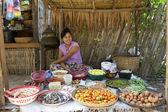 Produce Market Myanmar Burma — Stock Photo