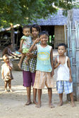 Myanmar Children — Stock Photo