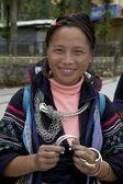 Vietnam hmong negro — Foto de Stock