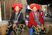 Red Dao Ethnic Minority Vietnam — Stock Photo