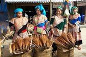 Květina hmong vietnam — Stock fotografie