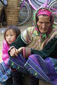 Flower Hmong Vietnam — Stock Photo