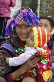 Straße Markt Anbieter Yangon myanmar — Stockfoto