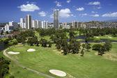 Malerischen golfplatz — Stockfoto
