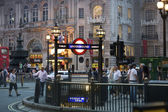 Piccadilly circus london — Stockfoto