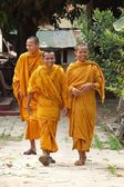 Monks in Cambodia — Stock Photo